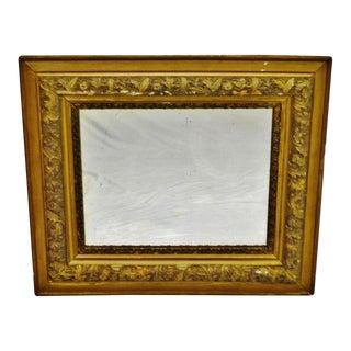 Antique Victorian Gold Gilt Mirror