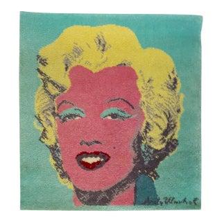 Andy Warhol Style Marilyn Monroe Rug Hanging