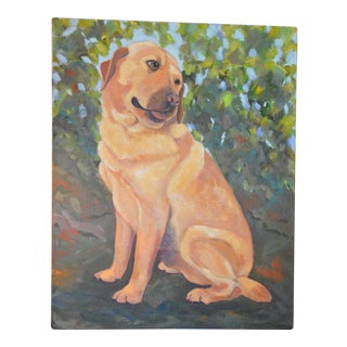 Labrador Retriever Acrylic Painting