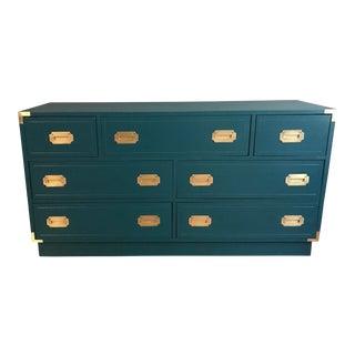 Deep Emerald Campaign Dresser