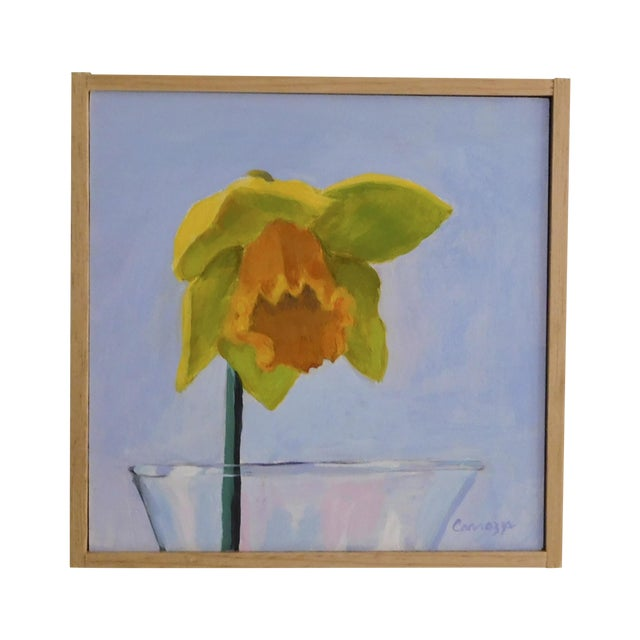 Anne Carrozza Remick Daffodil Painting - Image 1 of 5