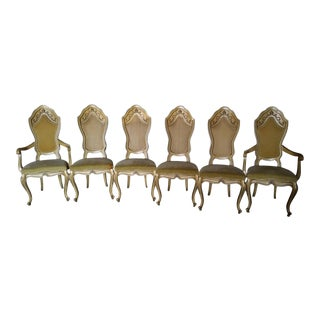 French Louis XV Cane Chair - Set of 6
