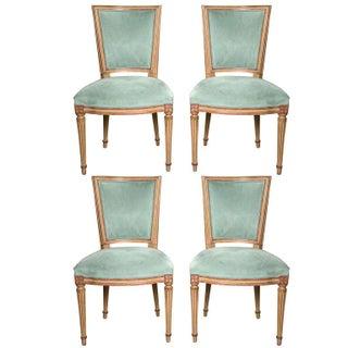 Maison Jansen Louis XVI Style Dining Chairs - S/4