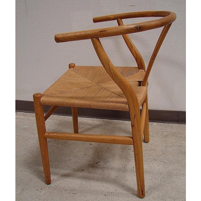 Hansen-Style Danish Rush Chairs - A Pair - Image 4 of 6