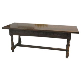 Spanish Mission Refectory Table