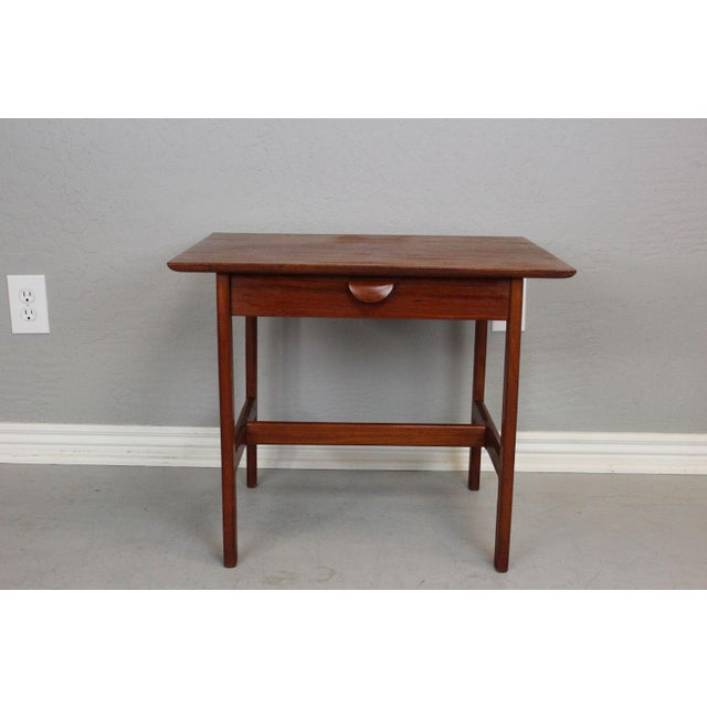George Tanier Teak Side Table by P. Jeppeson - Image 3 of 9