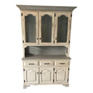 Amish Made Refinished China Hutch