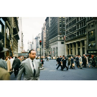 The Brass Rail, New York City Vintage 35mm Film Slide Photograph (Circa 1950s)