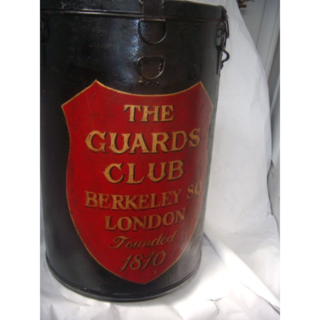 English Painted Metal Ballot Box - Image 9 of 10