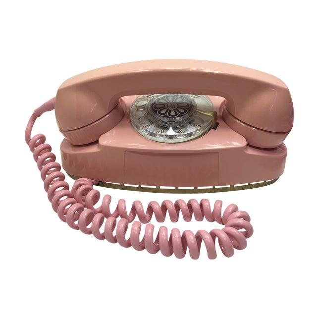 Pink Princess Rotary Dial Phone - Image 1 of 11