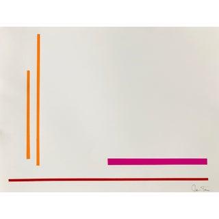 "Jason Trotter Original Acrylic Painting ""Line Configuration JET0478"""