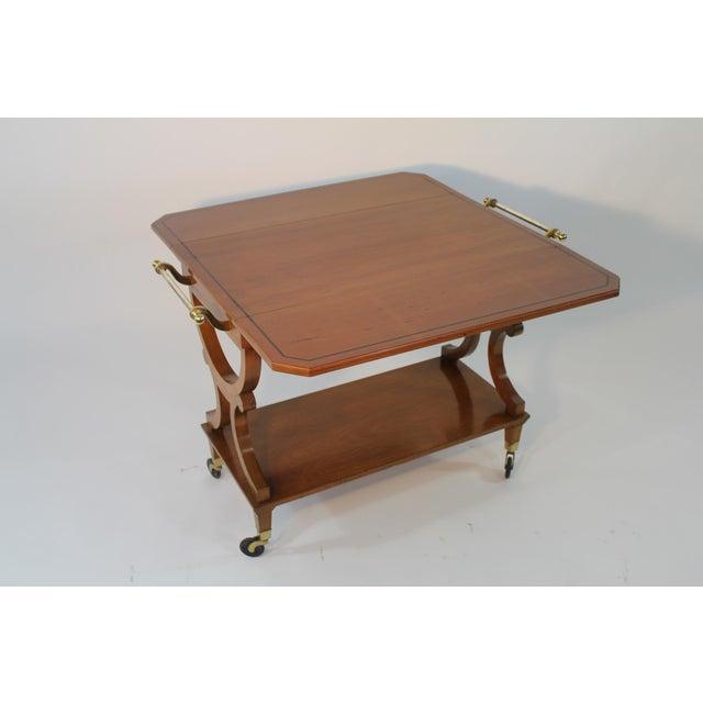 Kaplan Furniture Beacon Hill Serving Cart - Image 3 of 5