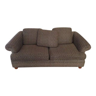 Ethan Allen Vintage Patterned Two-Cushion Sofa