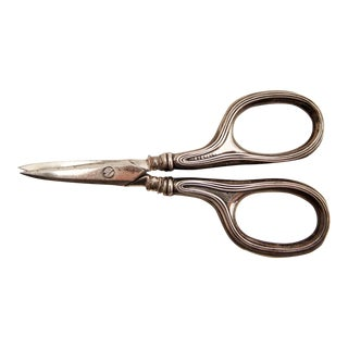 Sterling Silver Embroidery Scissors