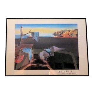 "Vintage Salvadore Dali ""Clocks"" Print"