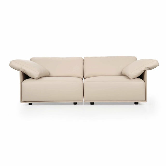 """Lievore Altherr Molina for Poltrona Frau """"Cassiopea"""" Leather Sofa - Image 11 of 11"""