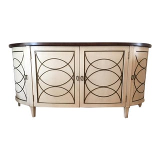 Contemporary Geometric Pattern Side Board