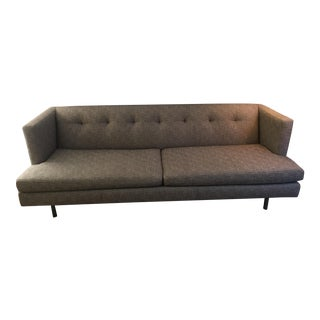 CB2 Modern Avec Grey Sofa