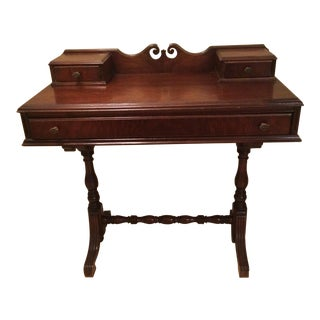Antique Wood Secretary Desk