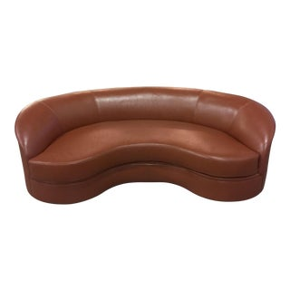 Vladimir Kagan Biomorphic Kidney Bean Shaped Sofa
