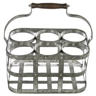 Galvanized Bottle Carrier