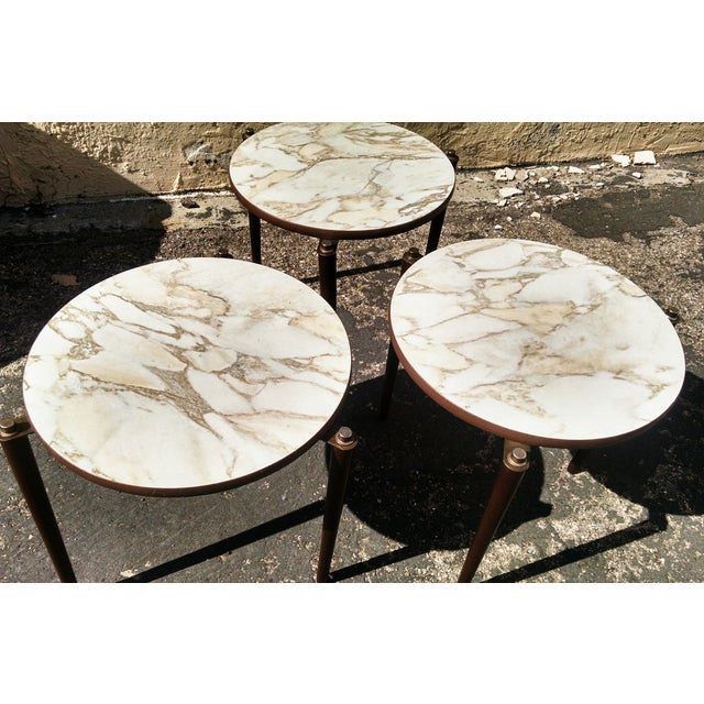 Vintage Mid-Century Nesting Tables - Set of 3 - Image 4 of 8