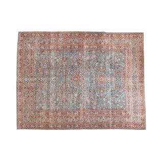"Vintage Distressed Meshed Carpet - 8'8"" x 11'4"""
