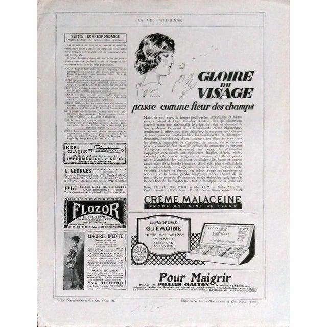 """Fournier 1925 La Vie Parisienne """" Un Amateur"""" Print - Image 5 of 5"""