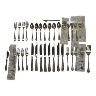 Gorham Fairfax Silver Flatware Set - 35 Pieces