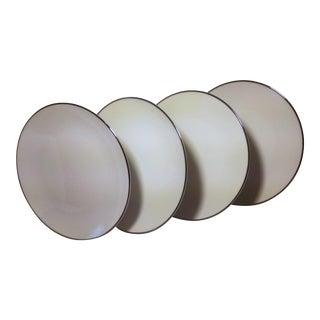 Noritake White Platinum Bread & Butter Plates - Set of 4