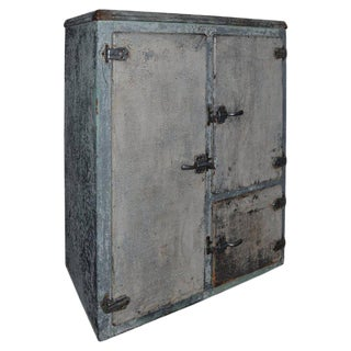 Bar or Storage Cabinet from 1920s Refrigerator