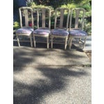 Image of Floral Dining Room Chairs - Set of 4