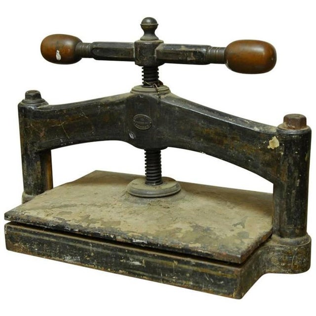19th-C. English Book Press - Image 1 of 10