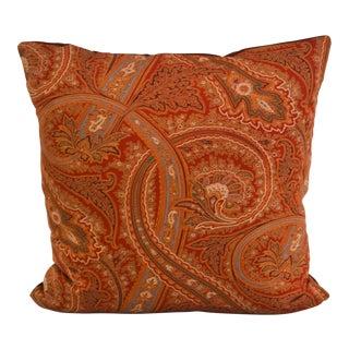 Ralph Lauren Paisley Pillow