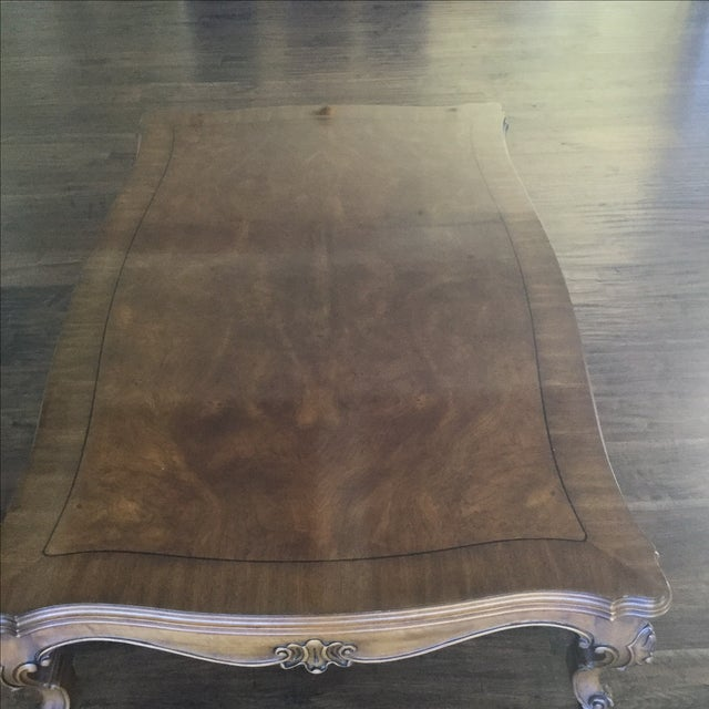 Karges Walnut Coffee Table - Image 3 of 4