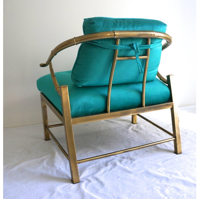 Image of Mastercraft Faux Bamboo Armchair