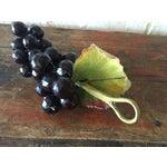 Image of Plastic Dark Purple Grape Cluster