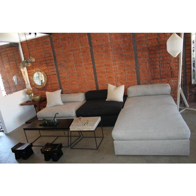Bauhaus Style Modular Sectional Sofa - Image 3 of 5