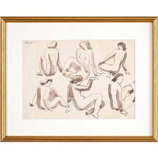 Study of Nudes by Wilhelm Kåge