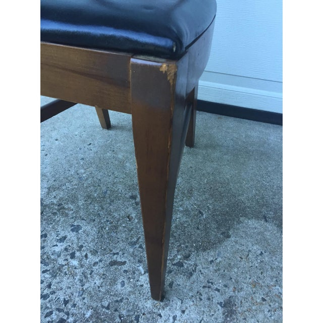 Mid-Century Ladder Back Side Chair - Image 7 of 10