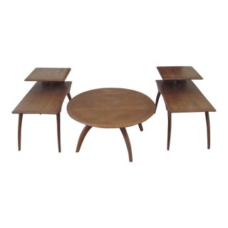 Heywood Wakefield Mid-Century Coffee Table & End Tables - Set of 3