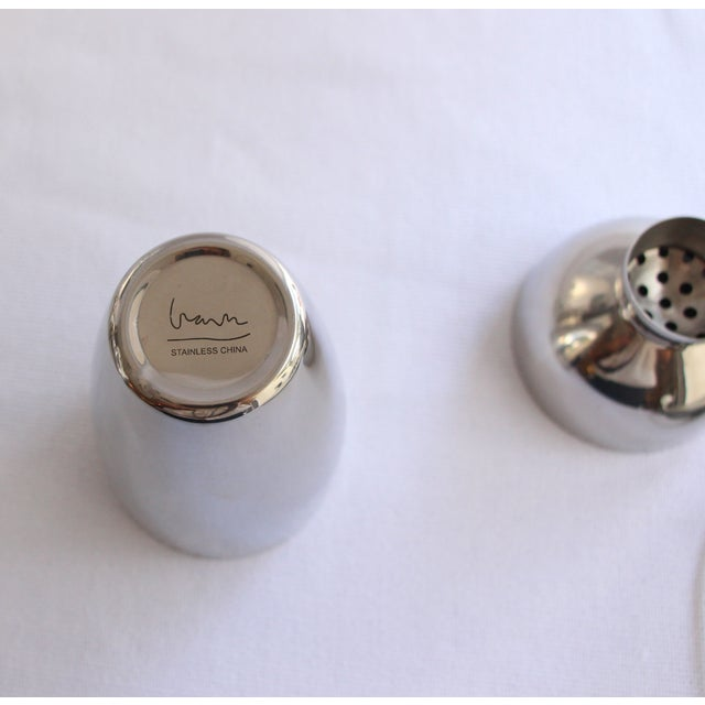Image of Stainless Cocktail Shaker With Rubber Ball Stopper