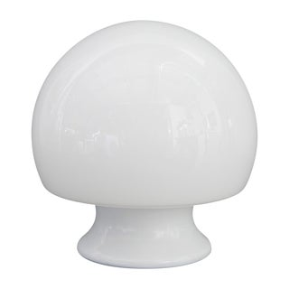 Murano Glass Mushroom Lamp in the Manner of Gino Vistosi