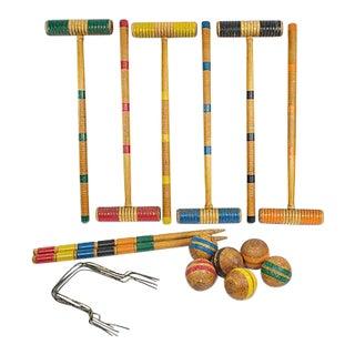 Wooden Croquet Set - 20 Pieces