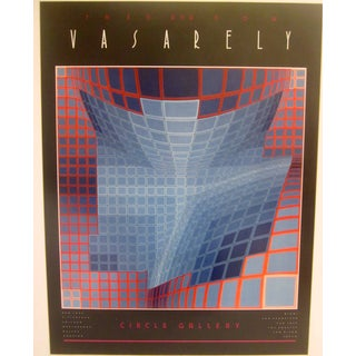 Pop Art Kinetic Vasarely Gallery Exhibition Poster