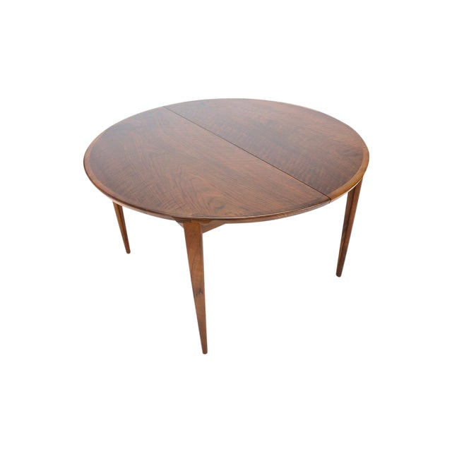 Rosengren Hansen Round Walnut Dining Table - Image 1 of 9