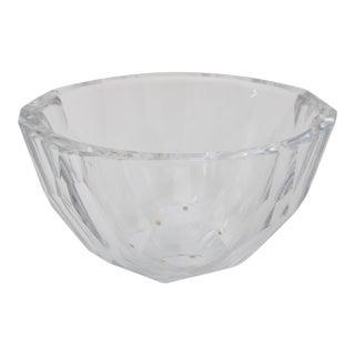 Orrefors Signed Glass Bowl