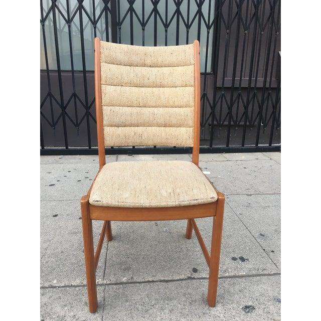 Danish Modern Teak Dining Chairs - Set of 6 - Image 6 of 11
