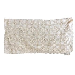 Vintage Crocheted Throw