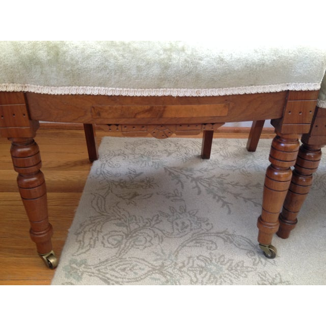 Eastlake Style Victorian Dining Chairs - A Pair - Image 5 of 8
